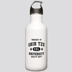 Property of Shih Tzu Univ. Stainless Water Bottle