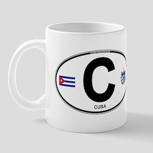 Cuba Intl Oval Mug