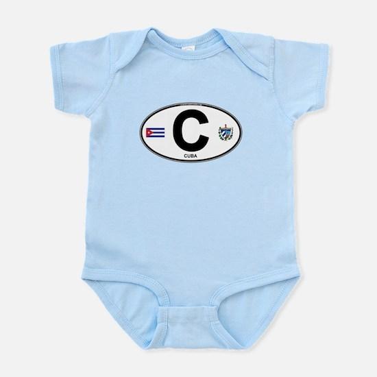 Cuba Intl Oval Infant Bodysuit