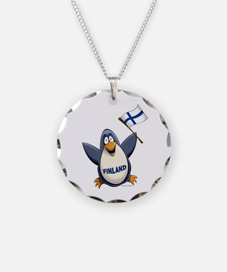 Finland Penguin Necklace