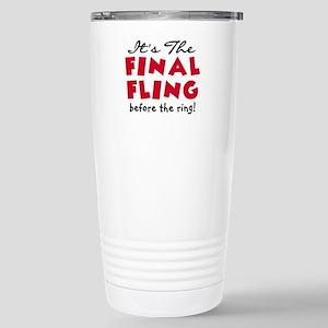 Final Fling Bachelorett Stainless Steel Travel Mug