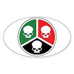 H3S Sticker (Oval 50 pk)