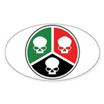 H3S Sticker (Oval 10 pk)