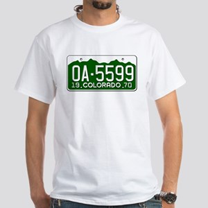 OA-5599 Vanishing Point White T-Shirt