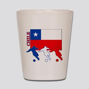 Soccer Chile Shot Glass
