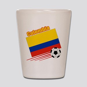 Colombia Soccer Team Shot Glass