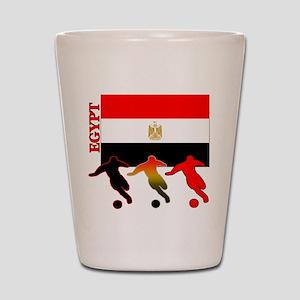 Egypt Soccer Shot Glass