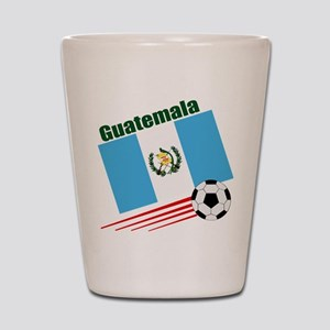 Guatemala Soccer Team Shot Glass