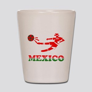 Mexican Soccer Player Shot Glass