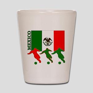 Soccer Mexico Shot Glass