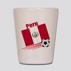 Peru Soccer Team Shot Glass