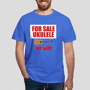 funny ukulele Dark T-Shirt