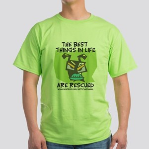 Rescued Green T-Shirt