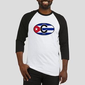 Cuba Intl Oval (colors) Baseball Jersey