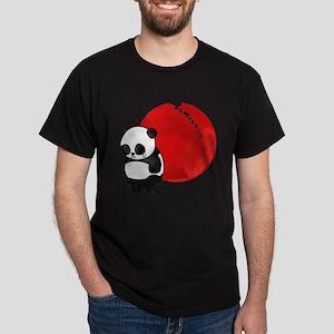 Sad Panda Bear Dark T-Shirt
