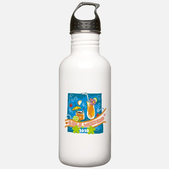 Tropical Girls Weekend Water Bottle