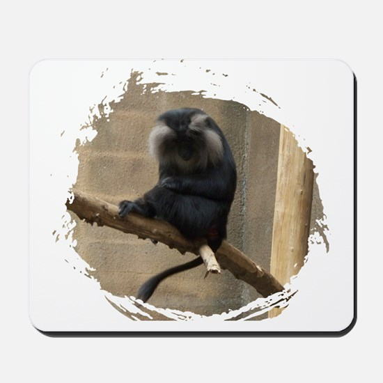 Lion-tailed macaque Mousepad