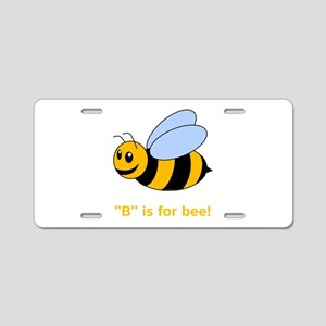 B Is For Bee Aluminum License Plate