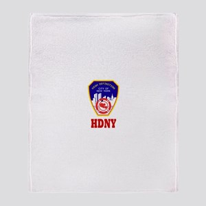 HDNY Throw Blanket