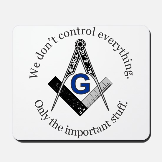 We don't control everything Mousepad