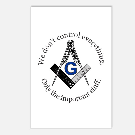 We don't control everything Postcards (Package of