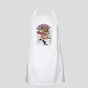 Cherry Bomber Nose Art BBQ Apron