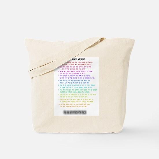 10 Things Tote Bag