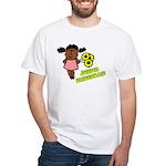Ethnic Jr Bridesmaid White T-Shirt