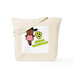 Ethnic Jr Bridesmaid Tote Bag
