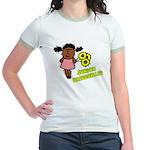 Ethnic Jr Bridesmaid Jr. Ringer T-Shirt