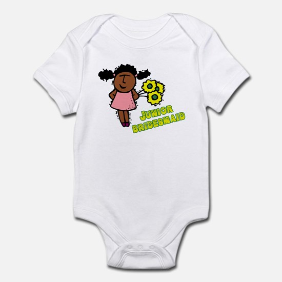 Ethnic Jr Bridesmaid Infant Bodysuit