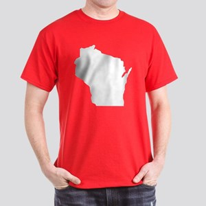 Wisconsin State: Dark T-Shirt