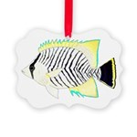 Chevron Butterflyfish Ornament