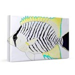 Chevron Butterflyfish 20x30 Canvas Print