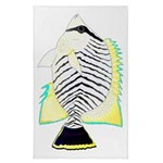 Chevron Butterflyfish Tea Towel