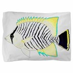 Chevron Butterflyfish Pillow Sham