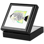 Chevron Butterflyfish Keepsake Box