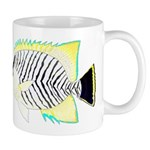 Chevron Butterflyfish Mugs
