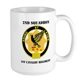 1st cavalry regiment Large Mugs (15 oz)