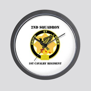 DUI - 2nd Sqdrn - 1st Cavalry Regt with Text Wall