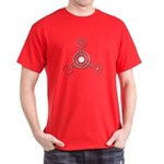 Dark T-Shirt - Barury Castle Crop Circle