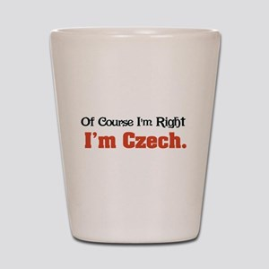 I'm Czech Shot Glass