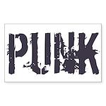 Punk Sticker (Rectangle)