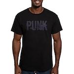 Punk Men's Fitted T-Shirt (dark)