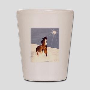 Starlight Snow Run Shot Glass