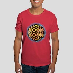 Women's Dark T-Shirt - Flower Of Life
