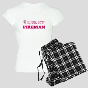 I love my Fireman Pajamas