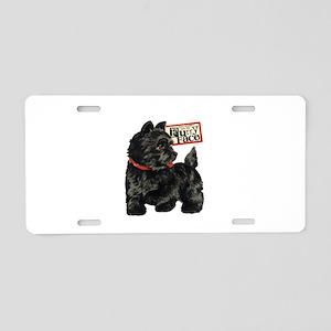 Terrier Aluminum License Plate