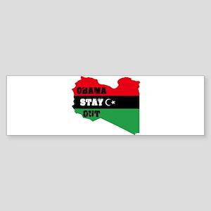 Obama Stay Out Sticker (Bumper)