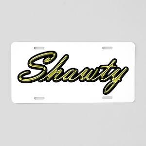 Shawty Aluminum License Plate